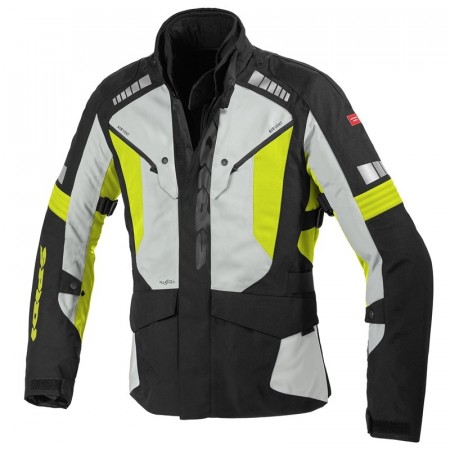 SPIDI OUTLANDER JAKKE BLACK/YELLOW